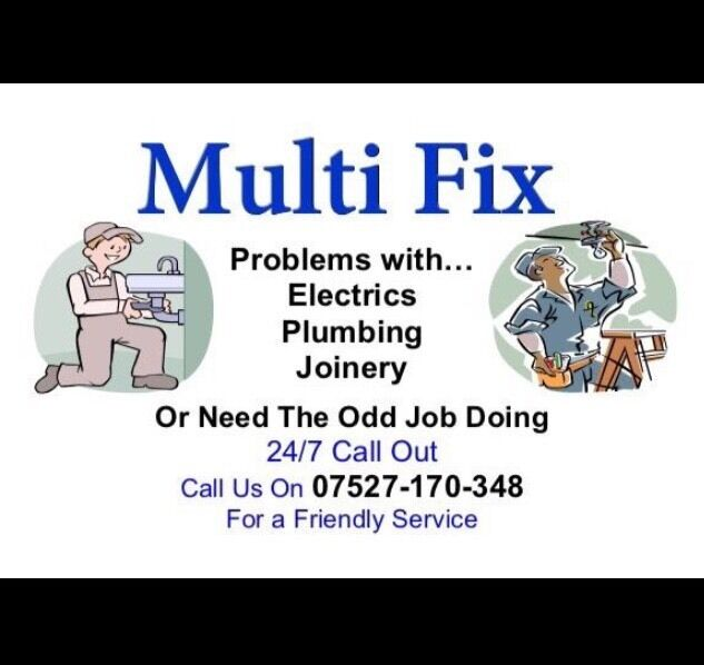 24h call out, Builder, Handy man, Electrician, Plumber,
