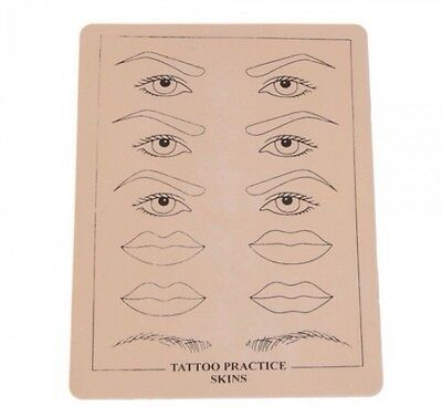 Übungshaut Permanent-Make Up  Practice Skin Augenbrauen  Übungshaut Tattoo (Augen Make-up Tattoo)