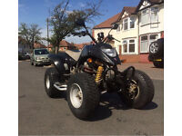 Road legal quad bike Apache 250 Quadzilla not Yamaha raptor