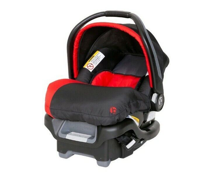 Baby Trend Ally 35 - Baby Infant Car Seat Travel System w/Cover - Red - 4-35 lbs