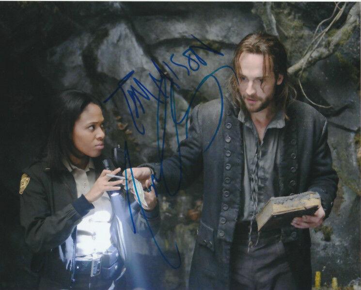 Tom Mison Nicole Beharie Sleepy Hollow Autographed Signed 8x10 Photo COA B