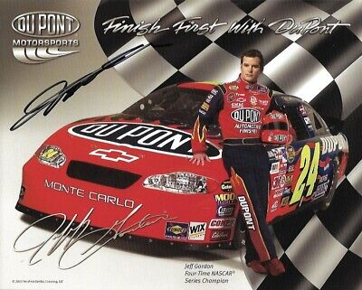 Sports Mem, Cards & Fan Shop Racing-nascar Sincere Nascar Jeff Gordon Dupont Cards Memorabilia Collector Pack Auto Racing 24