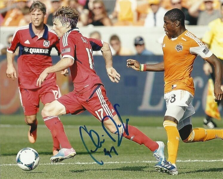 Chicago Fire Chris Rolfe Signed Autographed 8x10 Photo COA