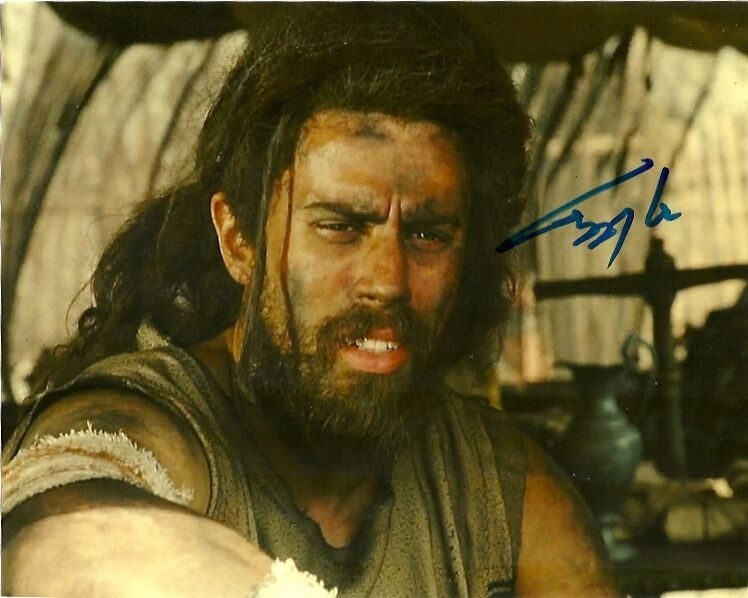 Wrath of the Titans Toby Kebbell Autographed Signed 8x10 Photo COA w/proof