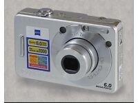 Cyber shot Sony digital Camera - silver