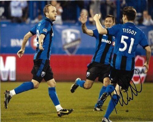 Montreal Impact Maxime Tissot Autographed Signed 8x10 COA