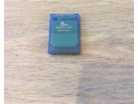 Playstation 2 Memory Card - Blue 8MB