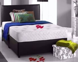 💖 PLAIN BED 🛌 IN BLACK & GREY 🎁 AVAILABLE IN STOCK, ALL SIZES AVAILABLE💖