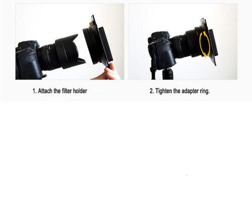 Aluminum 150mm Filter Holder for Samyang 14mm f/2.8 Lens Lee Compatible