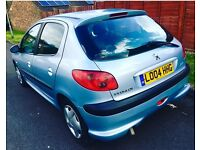 Peugeot 206 10 service stamped with book 9month mot 73k Milage 12month tax