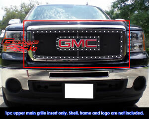 Fits 07-2012 GMC Sierra 1500/07-2010 Sierra Denali New Body Rivet Mesh Grill-