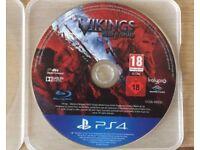PlayStation 4 Vikings Of Midgard NO CASE