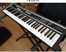 KORG X50 Keyboard with stand