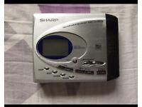 Sharp MD SR 505 MD Portable Mini Disc Player
