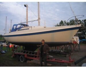 Tanzer 26 sail boat