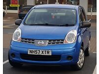 *Low Mileage* 2008 Nissan Note 1.4, HPi Clear, Dealer FSH, Not Mazda 3, Toyota yaris Auris
