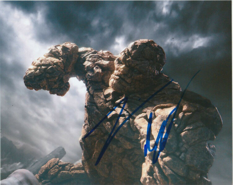 Jamie Bell Fantastic Four Autographed Signed 8x10 Photo COA C
