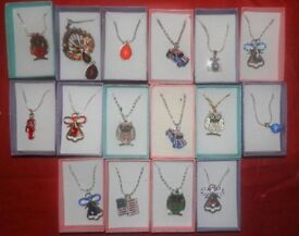 A selection of 16 childrens costume necklaces