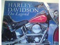 harley davidson.hard back book,mac mcdiarmid