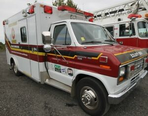 1989 FORD ECONOLINE 350 AMBULANCE