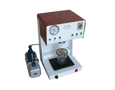 Bnib Dental Lab Vacuum Mixer Mixing Machine With Outer Pump Dentist