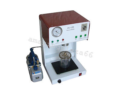 Dental Vacuum Mixer Mixing Vibrating Machine Outer Pump Mixing Beaker 1 Set