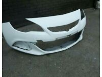 Vauxhall astra vxr front bumper spares or repairs
