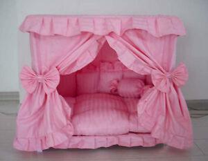 Gorgeous-Handmade-Princess-Pet-Dog-Cat-Bed-House-1-Candy-Pillow