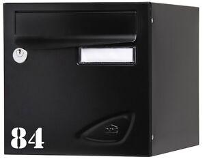 sticker numero boite aux lettres 3 ebay. Black Bedroom Furniture Sets. Home Design Ideas