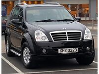 Rexton II 270 Same as Mercedes ML 270 HPI Clear, Reliable SUV Jeep like Nissan Navara tow truck car