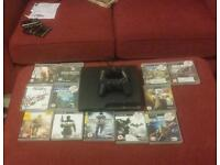 Ps3 + all the games 2 controllers free delivery
