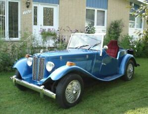 MG TD 1952 sur chassis VW Bettle