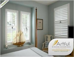 Window Treatment: Blinds, Drapery, Shutters & Shades