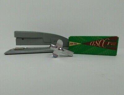 Vintage Swingline Stapler Grey Asco Standard Staples Staple Remover Lot Of 3