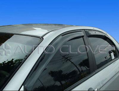 Rain Guard Smoke Window Visor Vent 4p for 2005 2009 Kia Spectra Cerato 4DR
