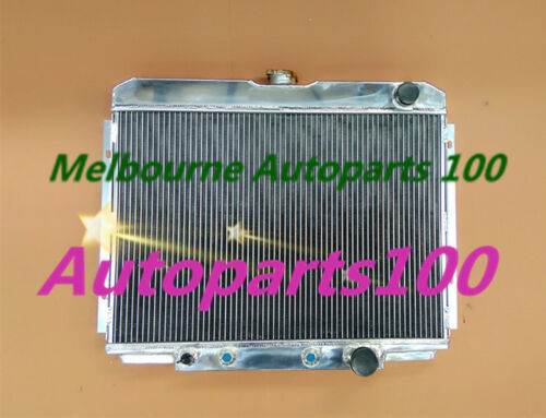1969-1970 Ford Mustang 1963-1969 Ford Fairlane Aluminum Radiator 3 Row