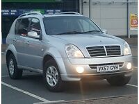 *Low Mileage* Rexton II 270 S w/ R CAMERA **Twin Sister of Mercedes ML 270** Cheap Reliable 4x4 Jeep