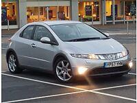 *SATNAV* Honda Civic EX 2.2 CDTI, FSH, XENON, BLUETOOTH, HPI CLEAR Not Toyota Auris, VW Golf
