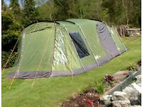 Coleman da gama 5 tent, as new, ideal for a family.