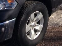 Dodge Ram factory rim and tire
