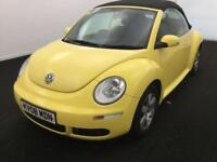 2008 Volkswagen Beetle 1.6 Luna Cabriolet 2dr Petrol yellow Manual