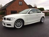 2011 BMW 120D M SPORT MANUAL FULL BMW HISTORY FACELIFT HPI CLEAR