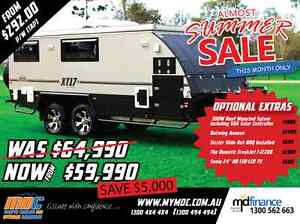 NEW MDC XT-17T OFFROAD HYBRID CARAVAN SALE - CAMPER TRAILER PARK Campbellfield Hume Area Preview