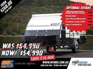 NEW MDC XT-17 OFFROAD HYBRID CARAVAN SALE - CAMPER TRAILER PARK Campbellfield Hume Area Preview