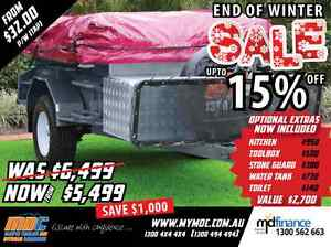 NEW MDC OFFROAD DELUXE CAMPER TRAILER 4X4 TENT 4WD ROAD SALE Balcatta Stirling Area Preview