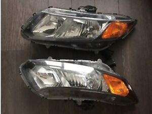 2012 Honda Civic Coupe Headlights Factory left and right
