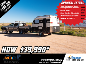 2017 NEW MDC XT-12HR OFFROAD CARAVAN Campbellfield Hume Area Preview