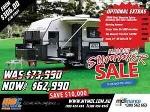 NEW MDC XT-17HRT OFFROAD CARAVAN SALE - CAMPER TRAILER PARK Condell Park Bankstown Area Preview
