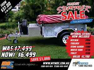 NEW MDC GALVANISED OFFROAD CAMPER TRAILER 4X4 4WD ROAD SALE Campbellfield Hume Area Preview