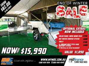 NEW OFFROAD REARFOLD HARDFLOOR CAMPER TRAILER 4X4 4WD HARD SALE Balcatta Stirling Area Preview
